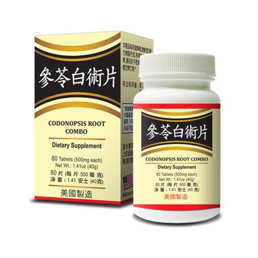 Codonopsis Root Combination 参苓白术片