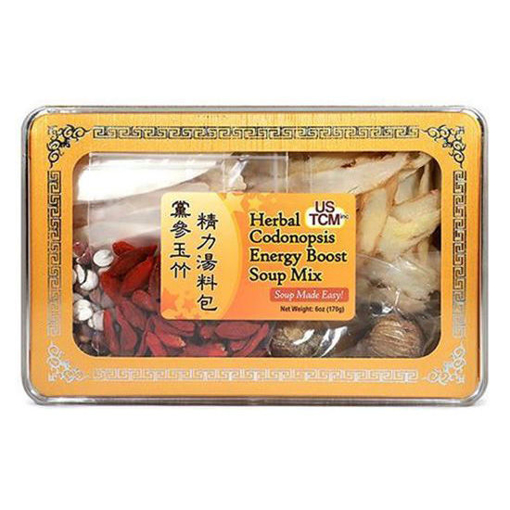 Herbal Codonopsis Energy Boost Soup Mix 黨參玉竹精力湯料包